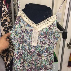 Entro boutique boho crochet detail sundress